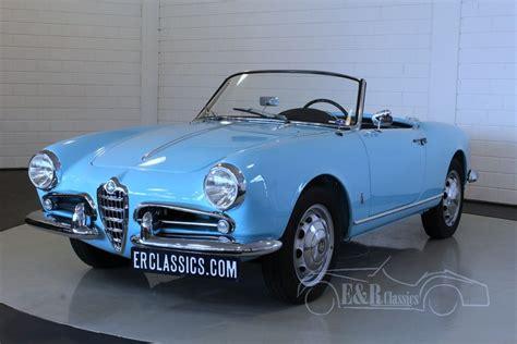 Alfa Romeo Giulietta For Sale by Alfa Romeo Giulietta 1957 For Sale At Erclassics