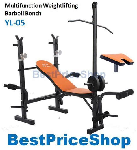 bench press standards high grade multifunction weight lifting barbell sq end 9