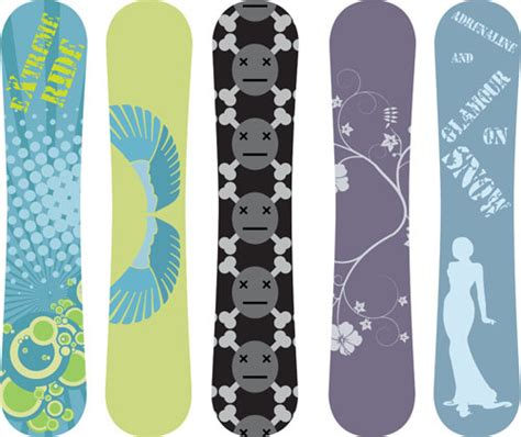 snowboard design template snowboard free vector 57 free vector for