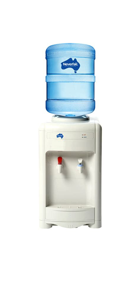 bench top water dispensers water cooler types neverfail