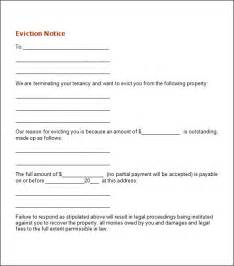 eviction notice template nc sle eviction notice template 12 free documents in