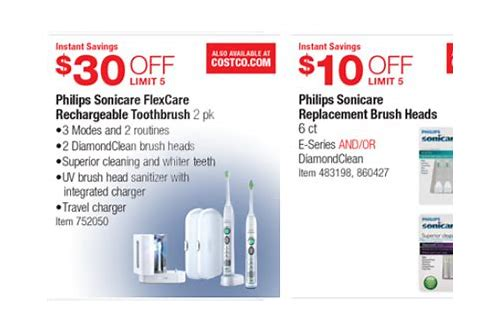 sonicare toothbrush coupon 2018