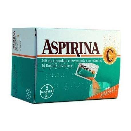 aspirina c per mal di testa aspirina c granulato 10 bustine per raffreddore e sintomi
