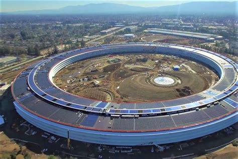 desain gedung apple proyek pesawat luar angkasa apple park segera rung