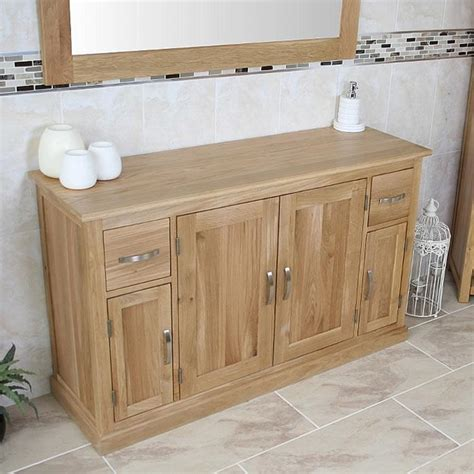 oak bathroom storage cabinets solid oak bathroom furniture oak bathroom storage