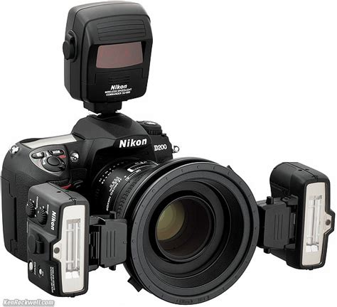 Nikon R1 Up Speedlight Remote Kit For D200 how to shoot macro