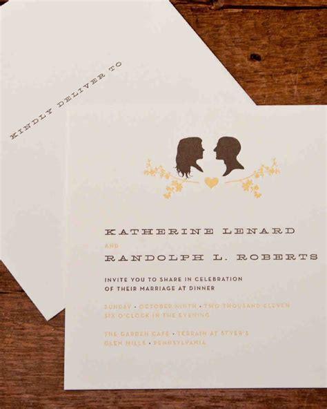 Wedding Invitations Vintage Style by Vintage Wedding Invitations Martha Stewart Weddings