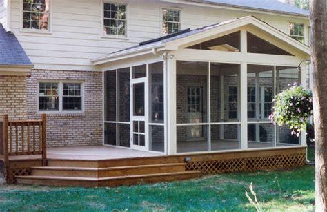 Build Sunroom On Deck sunroom built on a deck in houston tx lone patio