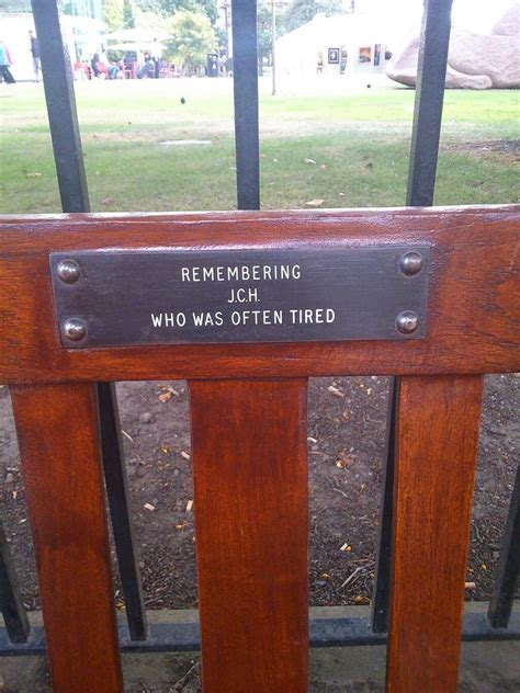 memorial benches with plaque 9 hilarious park bench memorial plaques pictures