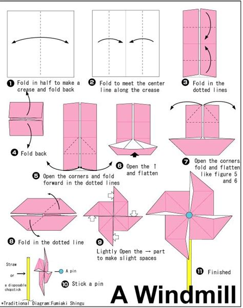 Make A Paper Windmill - 25 best ideas about paper windmill on
