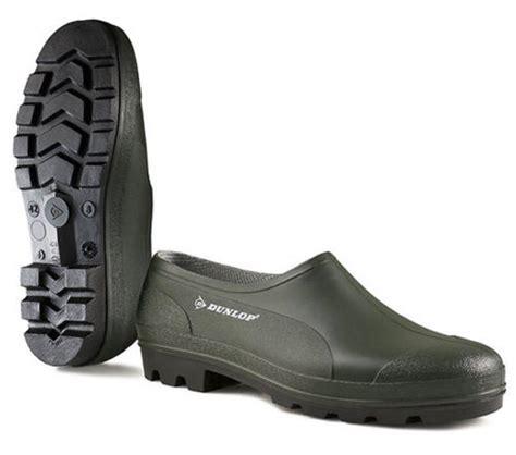 Garden Shoes Waterproof by Dunlop Unisex Waterproof Garden Shoes Clogs Goloshes Green