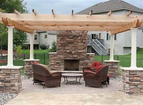 outdoor fireplace pergola best for study tuscan style backyard landscaping pictures minnesota state