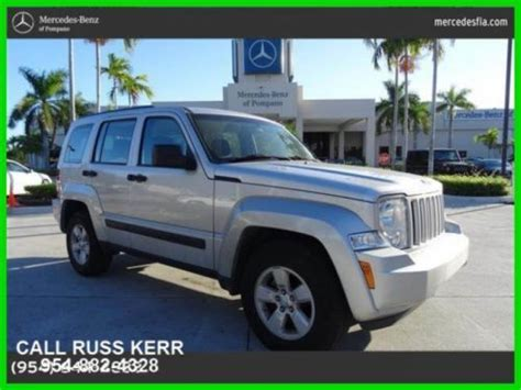 Jeep Liberty 4 Wheel Drive Buy Used 2010 Jeep Liberty Sport 3 7l V6 Automatic Four