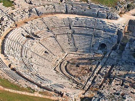 teatro greco di siracusa siracusa siciliano parli ma 233 una lingua o un dialetto