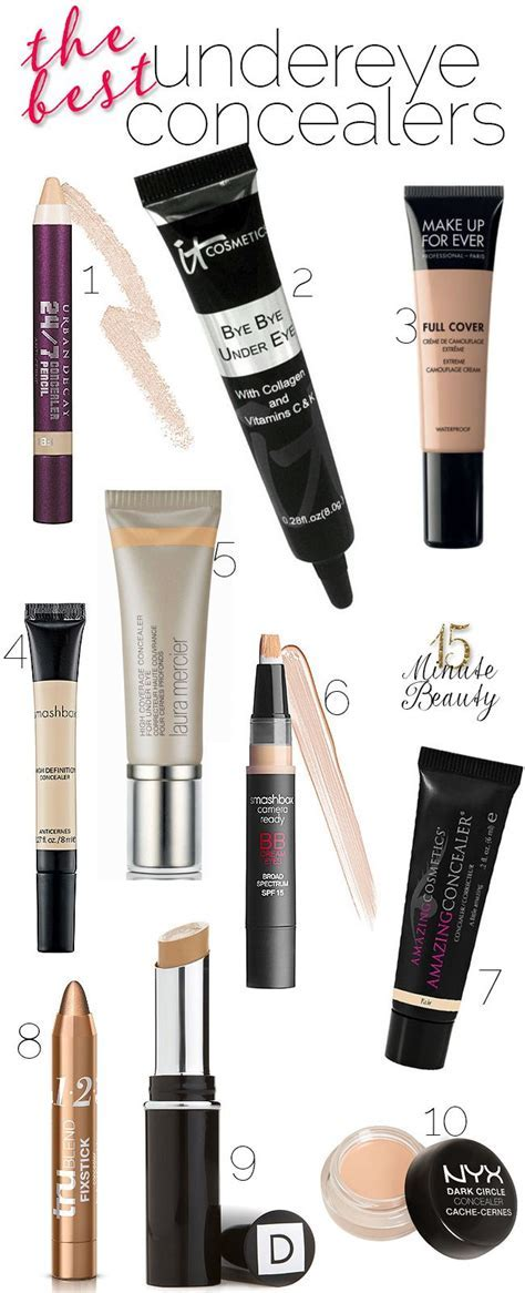 Under Eye Concealers that make you look awake!: Dark