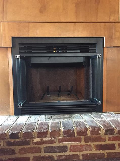 prefabricated fireplace doors prefab fireplace repair fireplaces