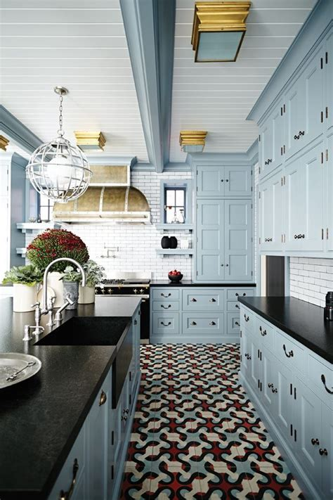 black kitchen cabinet ideas best 25 blue kitchen cabinets ideas on blue