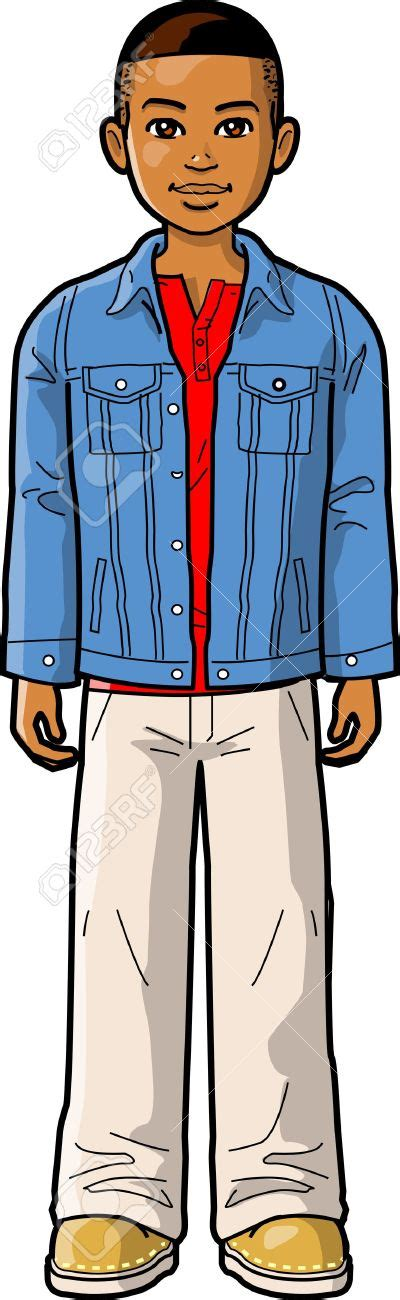Kaos Upright Pocket Boy denim cliparts