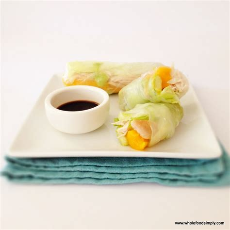 How To Make Rice Paper Rolls - rice paper rolls wholefood simply