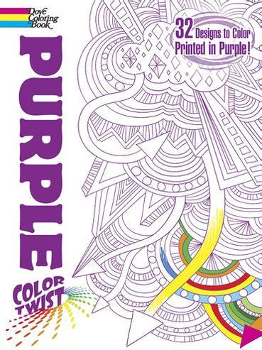 the color purple book barnes and noble colortwist purple coloring book by mazurkiewicz