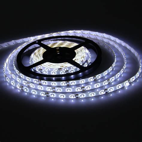 Cool White 5m 3528 Waterproof Led Smd 300 Lights Flexible 12v Lights