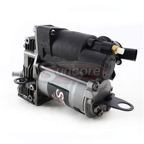 suncore industries airmatic suspension air compressor rebuilt oem mercedes s cl class