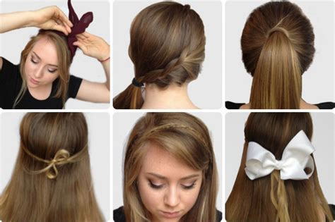 hairstyles for school step by step easy hairstyles for school step by step hair