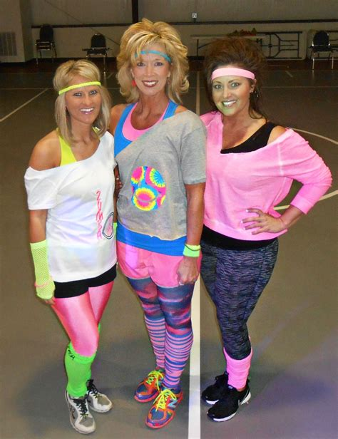 80s theme party costumes 80 s attire for cosmic zumba weworkout health and