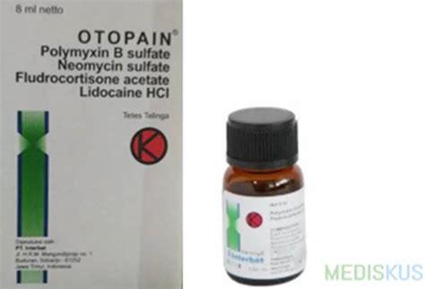 Obat Tetes Telinga Untuk Melunakkan Serumen otopain kegunaan dosis efek sing mediskus