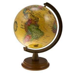 Small Desk Globes 6 Quot Mini Spinning Desk Globe Small Antique Shading World Wood Base Stand Office Walmart
