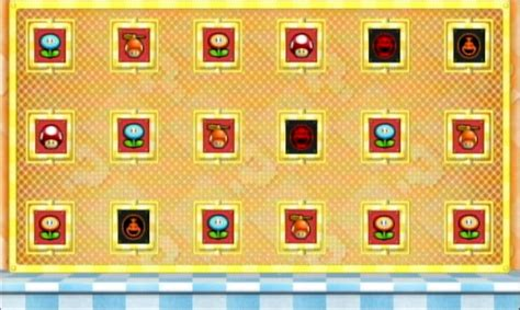 Good Color Pairs by New Super Mario Bros Wii Mushroom House Guide Part 1