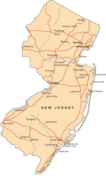 america map new jersey new jersey images