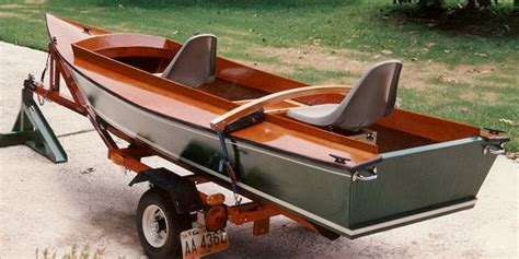 duck flat wooden boats 12 14 duckboat duck boat for paddle or power boatdesign