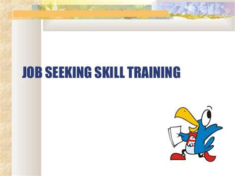 seeking skill