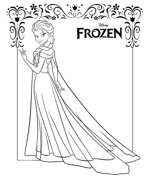 chibi elsa coloring page chibi elsa coloring pages