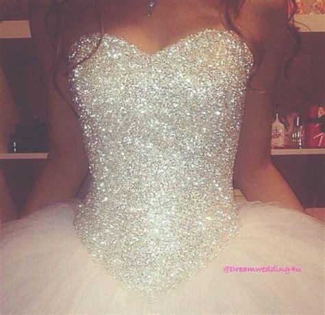 hochzeitskleid corsage glitzer glitter wedding dresses