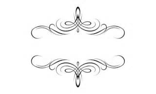 flourish monograms documents and designs