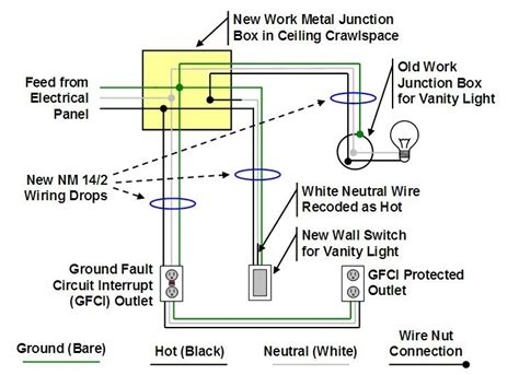how to wire a junction box diagram 28 images