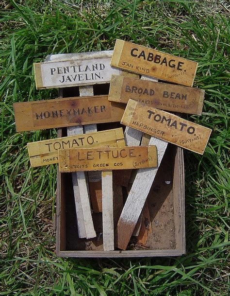 Gardening Labels Plant Labels Hen Houses Gardens