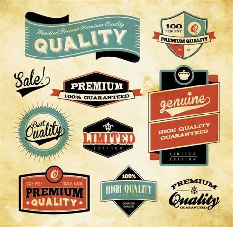 design vintage label 100 free vintage and retro labels and badges free