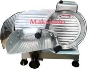 spesifikasi  harga mesin meat slicer toko mesin
