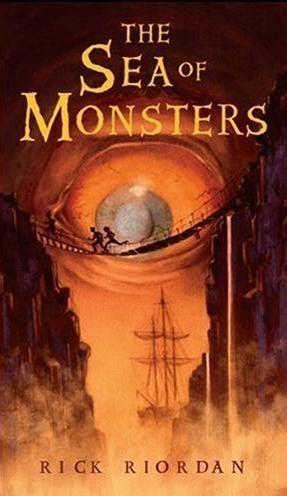 libro el mar de los percy jackson y el mar de los monstruos en la busqueda de lo fantastico