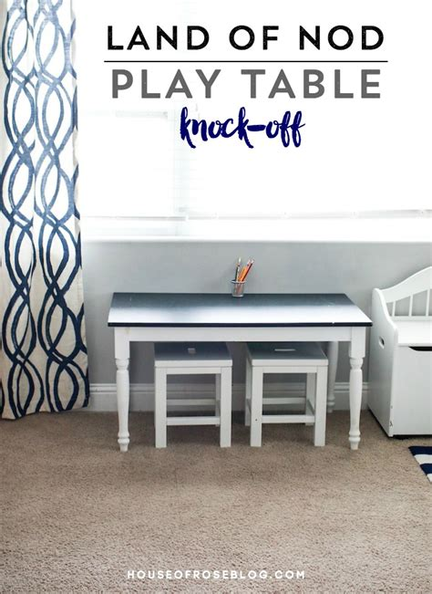Land Of Nod Table by Land Of Nod Play Table Knock