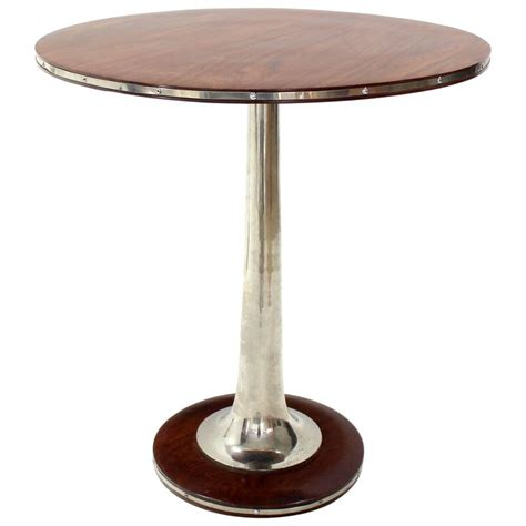 High Bistro Table Tulip Base High Bar Bistro Table At 1stdibs