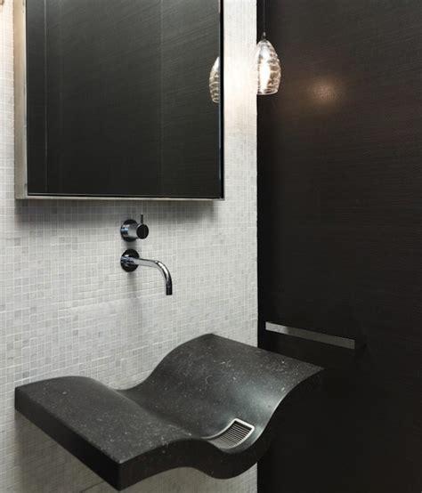 floating sink modern bathroom hickman design associates