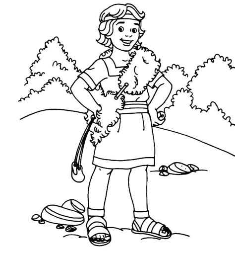 David The Shepherd Boy Coloring Pages Printable David The Shepherd Boy Clipart 52 by David The Shepherd Boy Coloring Pages Printable