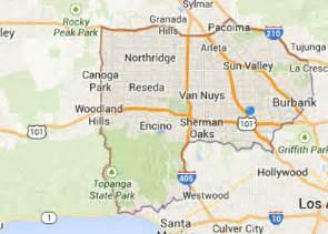 reseda california map garage door repair service san fernando valley los angeles