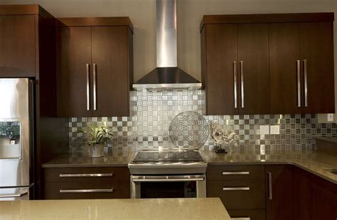 metal wall tiles kitchen backsplash metal kitchen backsplash nepinetwork org