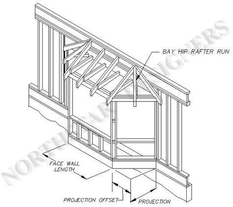 Bay Window Plans | plan for bay window addition assembly drawings or