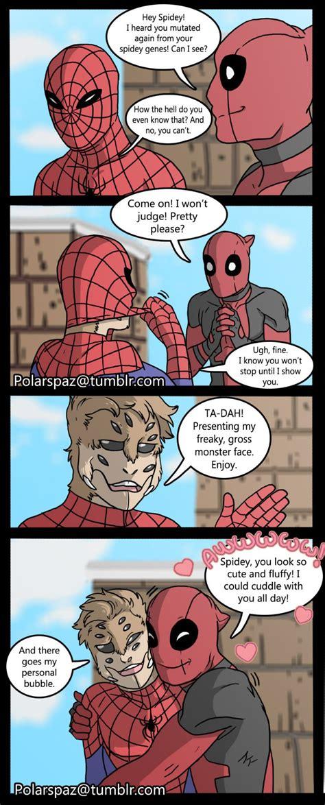 spidey pete superhero spideypool marvel comics